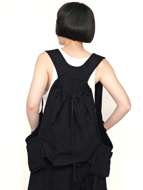 "【19SS】 my beautiful landlet (マイビューティフルランドレット) ""horse cloth backpack vest"" <ベストバッグ>"