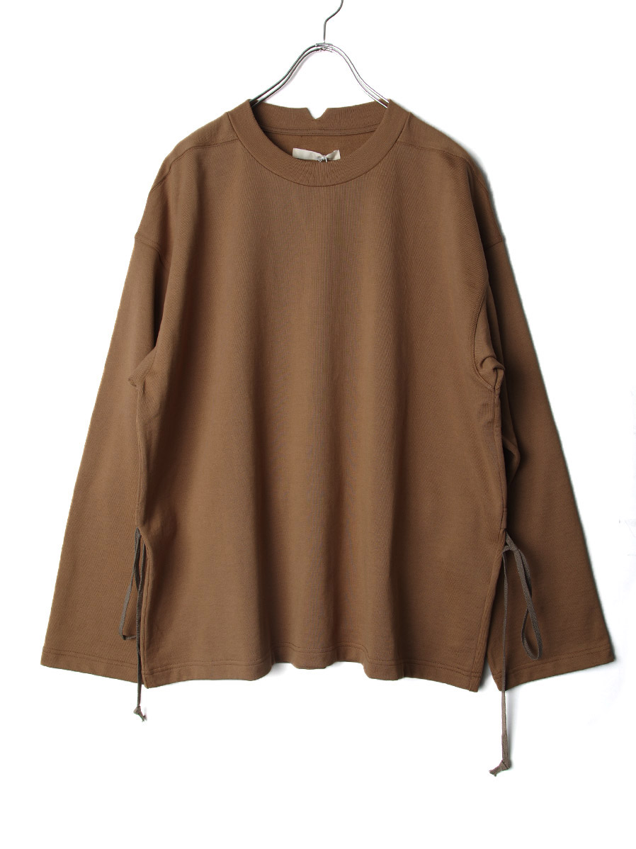 """【2020AW】 ANEI (アーネイ)  """"W.C. SWEAT LOOSE"""" <スウェット> - BROWN"""