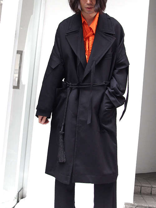 "【18AW】 BED J.W. FORD (ベッドフォード) ""Over coat"" <オーバーコート>"
