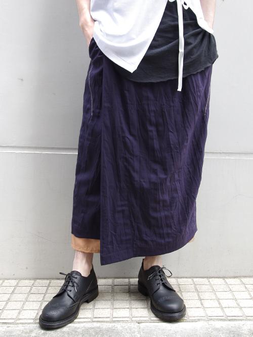 "BED J.W. FORD (ベッドフォード) ""Gurkha skirt."" 18SS-B-PT01 <パンツ> - 全2色"