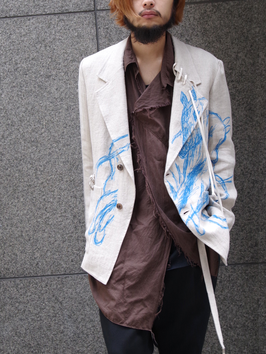 "LAST 1.【19SS】 BED J.W. FORD (ベッドフォード) ""Horse jacket ver.2"" <テーラードジャケット> - NATURAL"