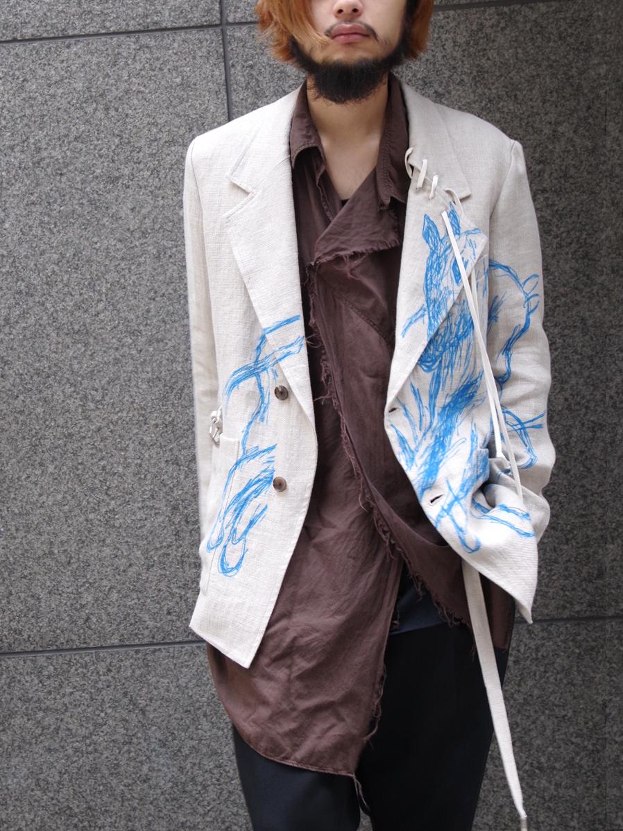 "【19SS】 BED J.W. FORD (ベッドフォード) ""Horse jacket ver.2"" <テーラードジャケット> - NATURAL"