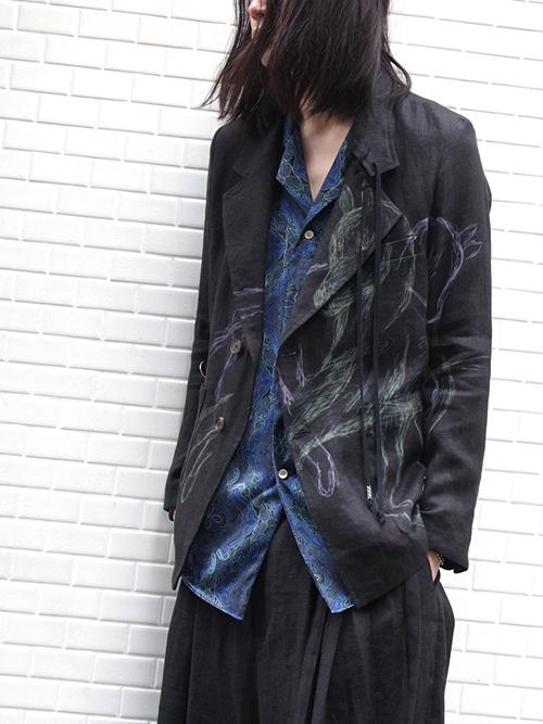 """【19SS】 BED J.W. FORD (ベッドフォード) """"Horse jacket ver.2"""" <テーラードジャケット> - BLACK"""