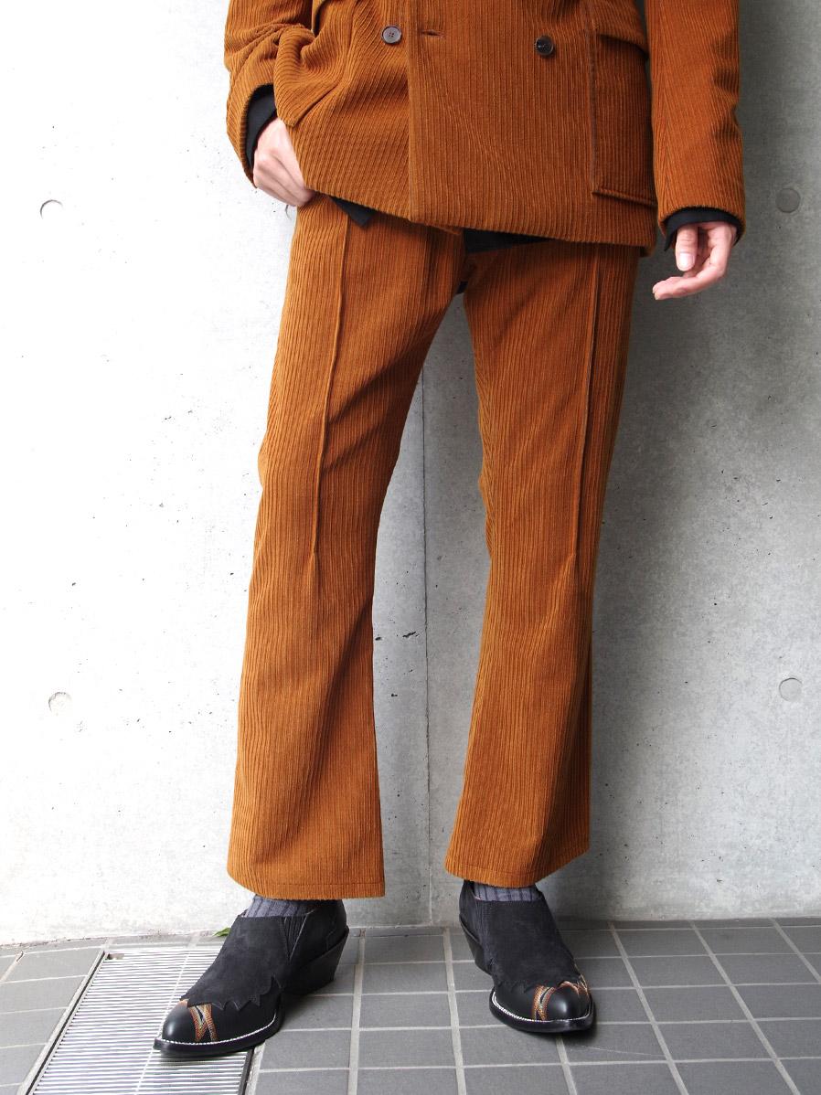 """BED J.W. FORD (ベッドフォード) """"Corduroy Flare Pants"""" <パンツ>"""