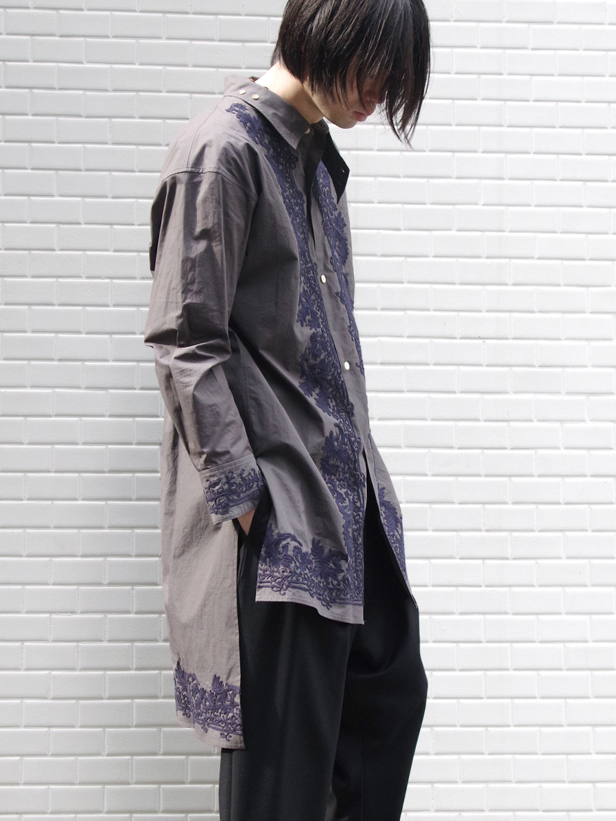 """【SALE:2020SS】 BED J.W. FORD (ベッドフォード) """"Indian Embroidery Shirt"""" <シャツ>"""