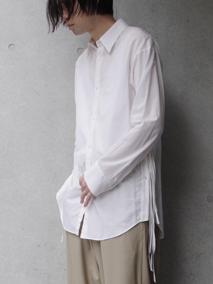 "LAST 1.【SALE:2020SS】 BED J.W. FORD (ベッドフォード) ""Ribbon Shirt"" <シャツ> - WHITE"