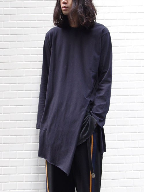 "【17SS】 BED J.W. FORD (ベッドフォード) ""slit sleeve."" <カットソー> - 全3色"