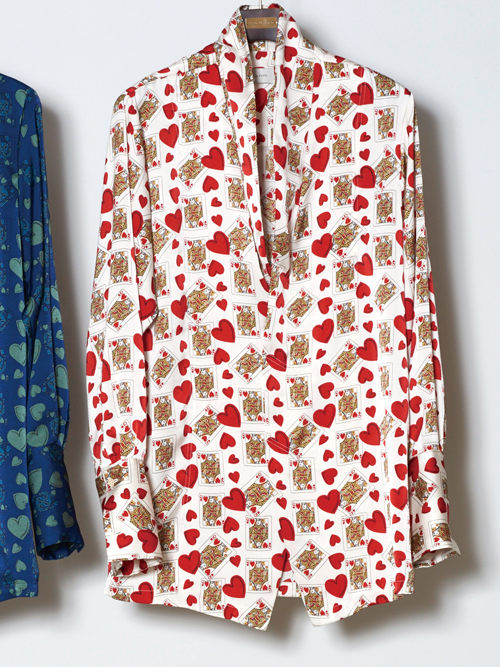 "【18SS】 BED J.W. FORD (ベッドフォード) ""Queen shirt."" 18SS-B-BL03 <シャツ> - 全2色"