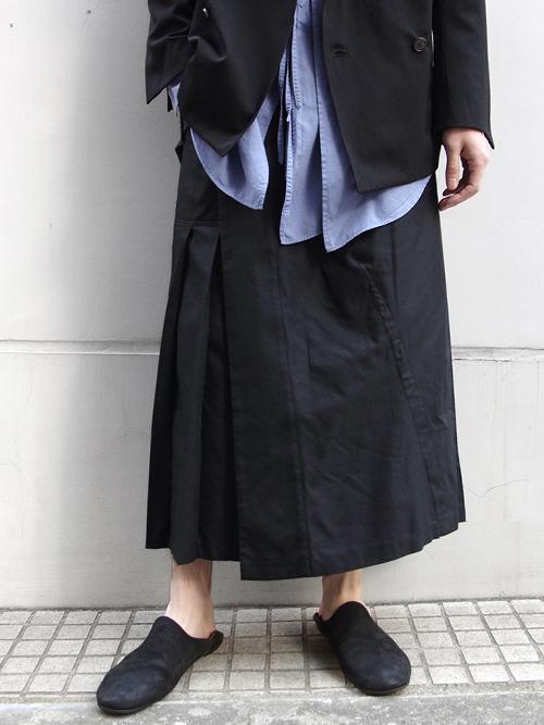 "【18SS】 BED J.W. FORD (ベッドフォード) ""Skirt pants."" 18SS-B-PT05 <パンツ> - 全2色"