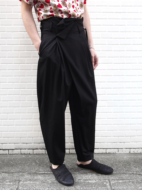 "【18SS】 BED J.W. FORD (ベッドフォード) ""Wrapped Trousers."" 18SS-B-PT07   <パンツ>"
