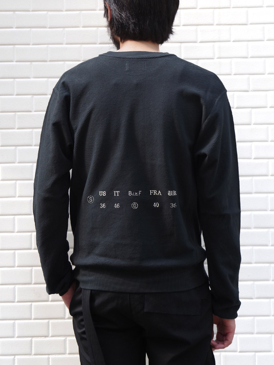 "BED J.W. FORD (ベッドフォード) ""Crew neck"" <カットソー> - CHARCOAL"