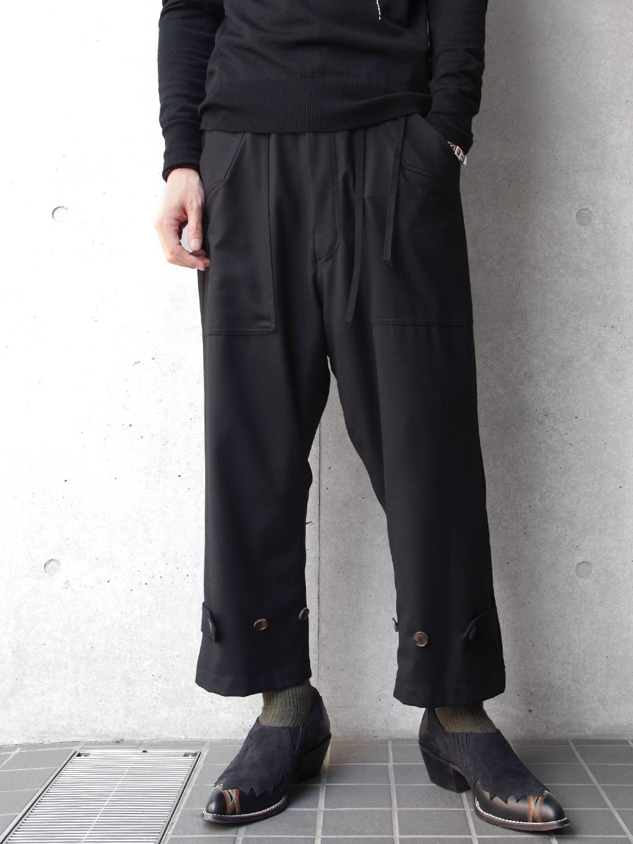 "【19AW】 BED J.W. FORD (ベッドフォード) ""Flannel Deck Trousers"" <パンツ>"