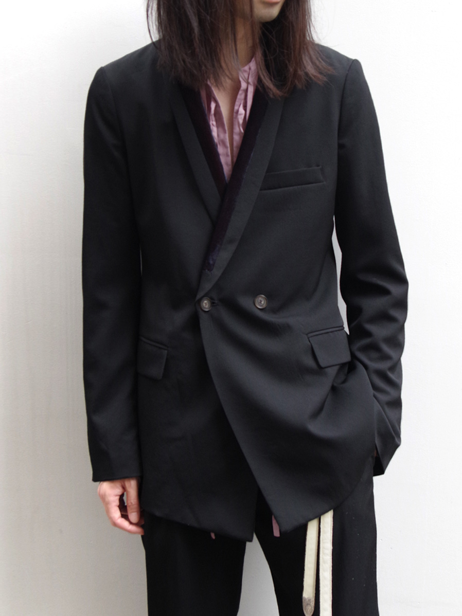 "【19AW】 BED J.W. FORD (ベッドフォード) ""Shawl collar jacket"" <テーラードジャケット>"