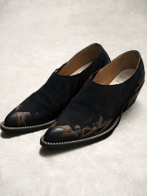 """BED J.W. FORD (ベッドフォード) """"Western Shoes ver.1"""" <ヒールシューズ>【返品不可】"""