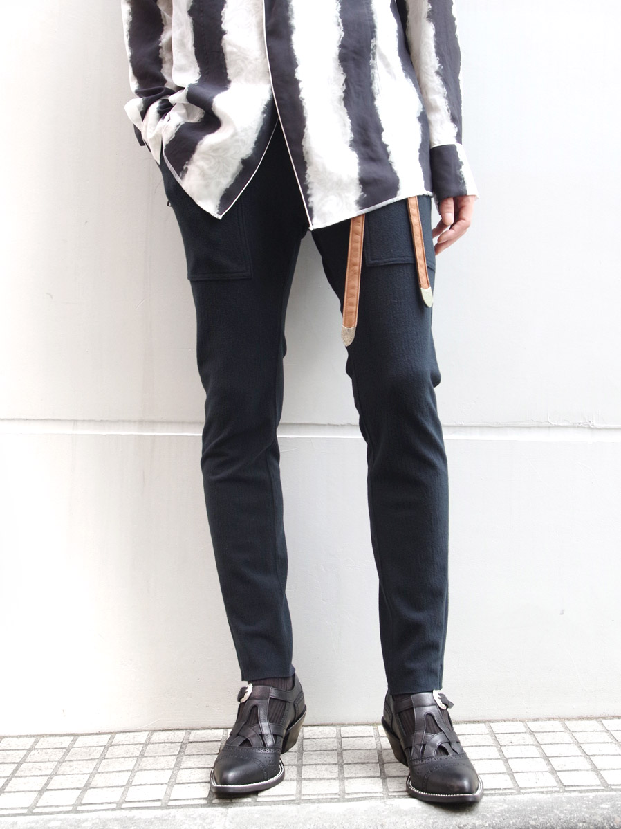 "【19AW】 BED J.W. FORD (ベッドフォード) ""Skinny trousers"" <パンツ>"