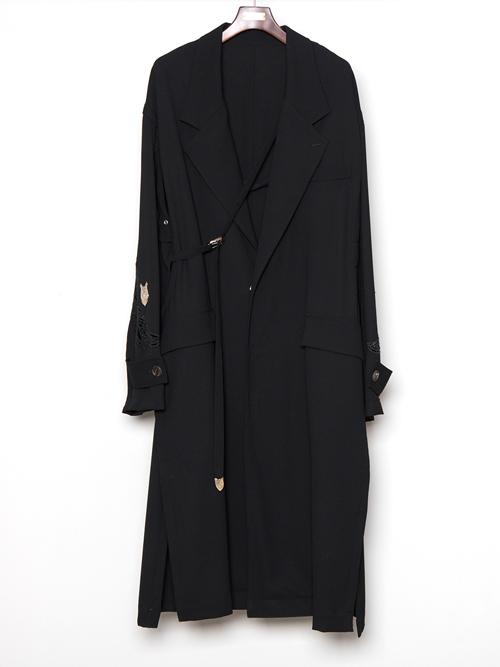 """【19SS】 BED J.W. FORD (ベッドフォード) """"Over coat ver.1"""" <チェスターコート>"""