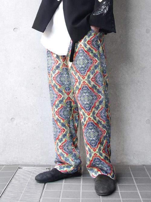 "【19SS】 BED J.W. FORD (ベッドフォード) ""Wide pants"" <ワイドイージーパンツ> - TRICOLOR"