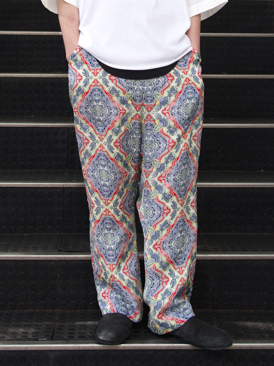"【SALE】 BED J.W. FORD (ベッドフォード) ""Wide pants"" <ワイドイージーパンツ> - TRICOLOR"