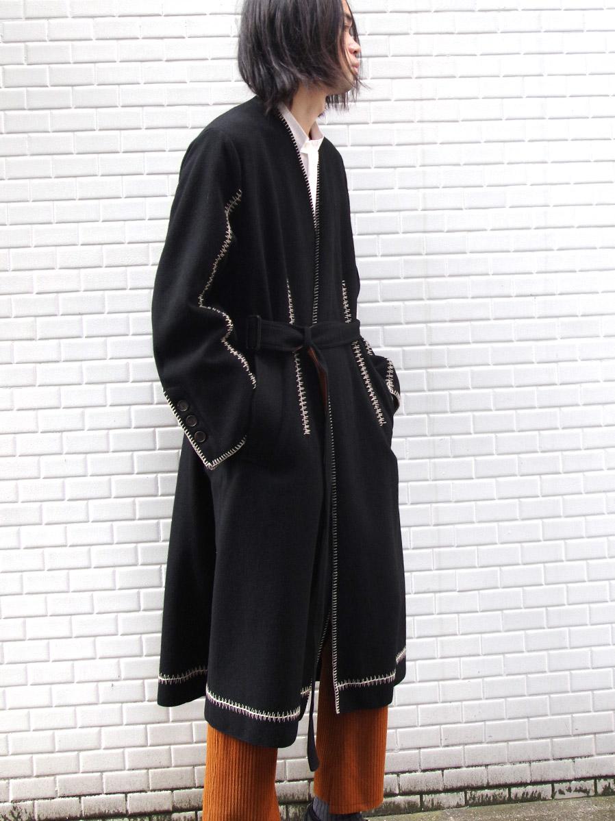 "【2020AW】 BED J.W. FORD (ベッドフォード) ""Hand Stitched Gawn Coat"" <コート>"