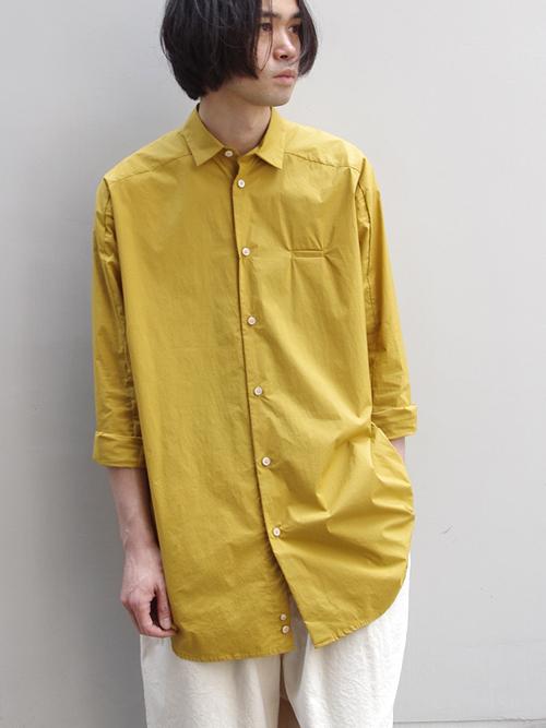 """Dulcamara (ドゥルカマラ) """"ヨークスリーブシャツ 18SS"""" <ロングシャツ>"""