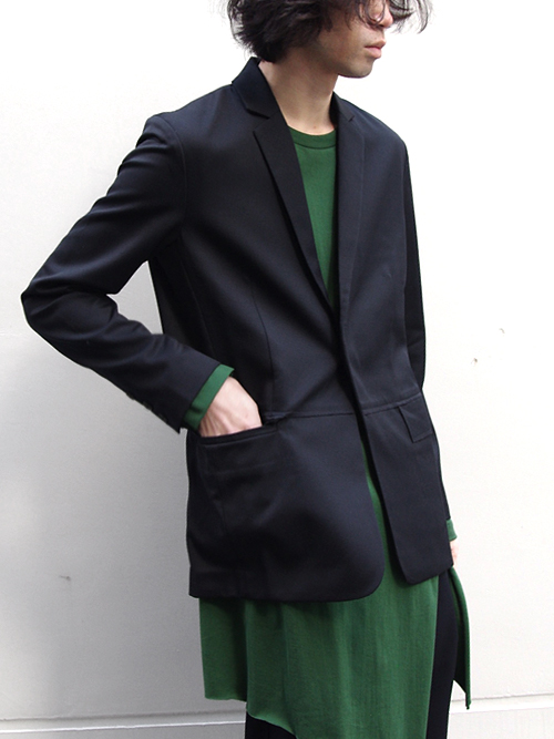 "FFIXXED STUDIOS  (フィックス) // ""SIMPLIFIED ENJOYMENT BLAZER"" <テ−ラードジャケット>"