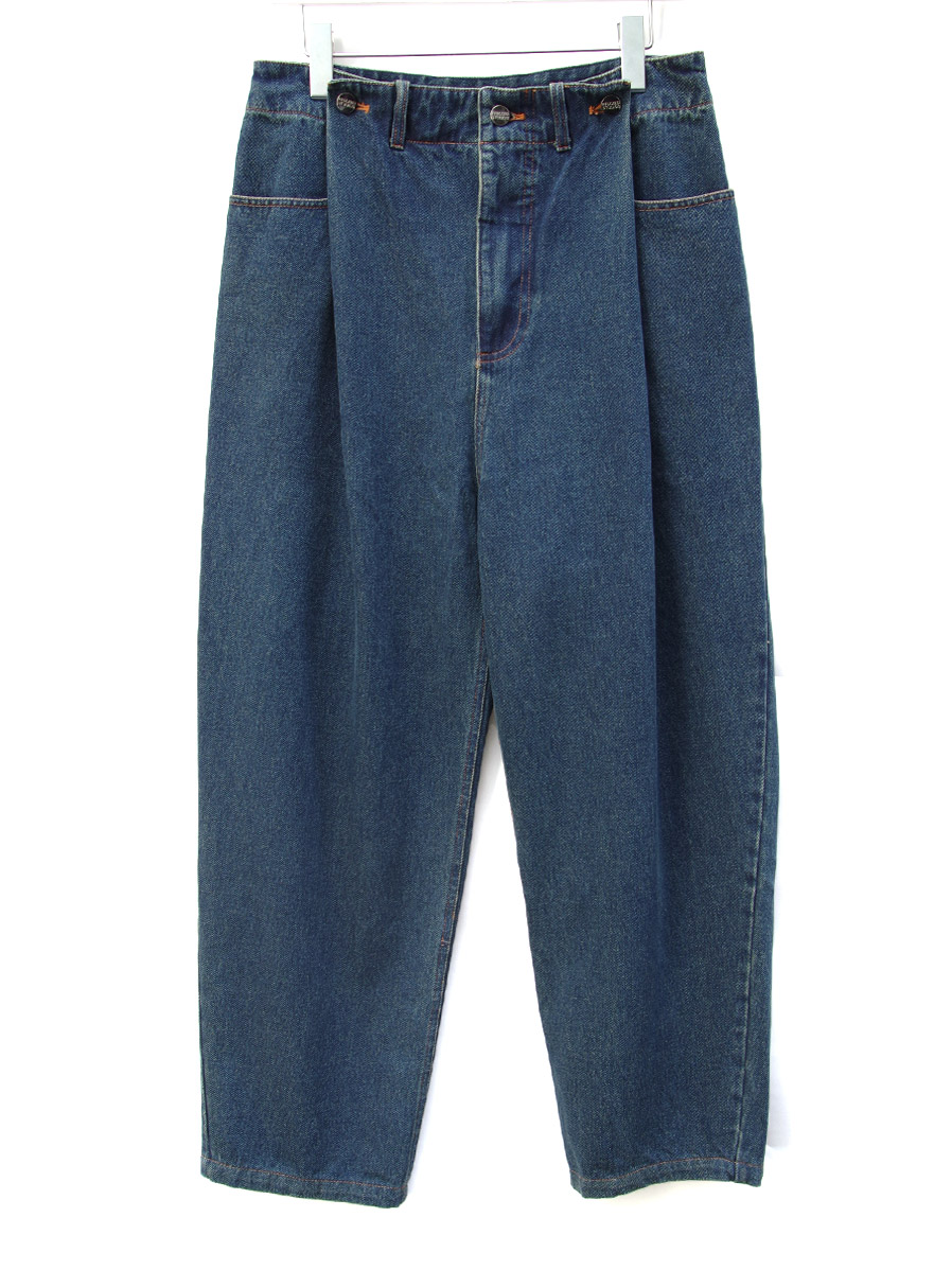 "<19AW>FFIXXED STUDIOS  (フィックス) // ""IN OUT JEANS"" <デニム / パンツ> - BLUE"