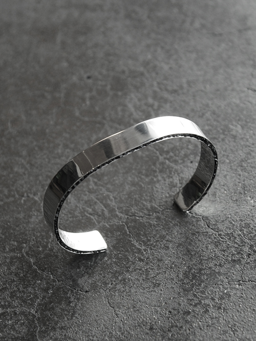 "Garden of Eden (ガーデンオブエデン) ""SIDE INLAY MOSAIC BANGLE"" - 6mm <シルバーバングル/ブレスレット>【送料無料】"