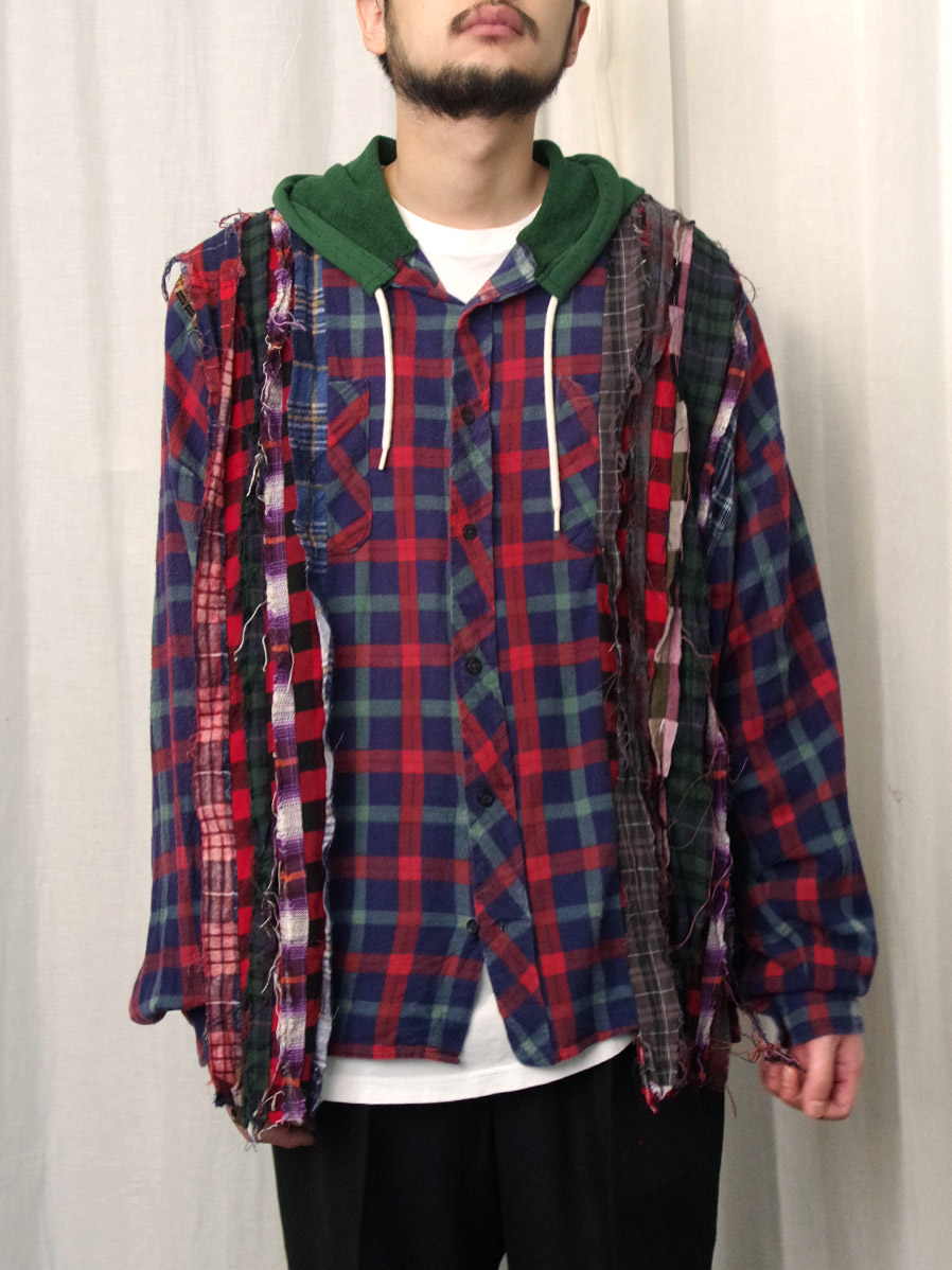 "GILET (ジレ) ""REMAKE WIDE HOOD SHIRT"" <リメイクシャツ>"