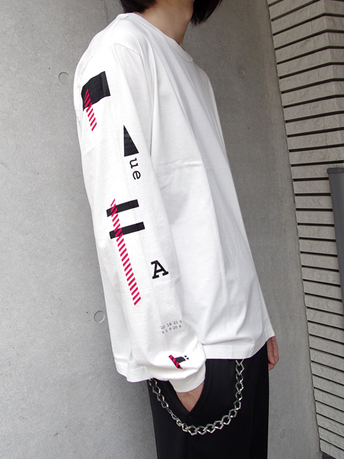 """<18AW> Iroquois (イロコイ) """"TF SLEEVE L/S TEE"""" <Tシャツ カットソー> - WHITE"""