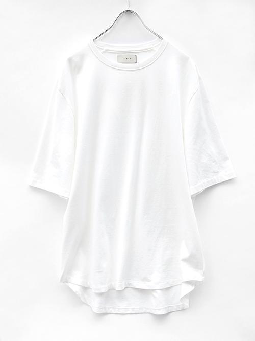 "JieDa(ジエダ)  ""BIG TEE"" <Tシャツ/カットソー> - WHITE"