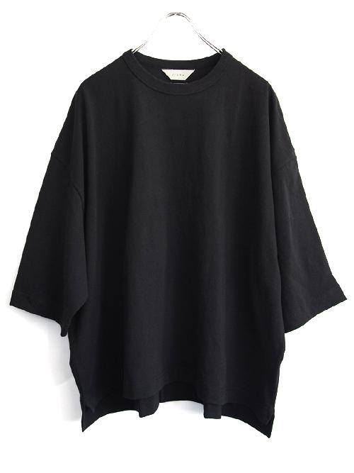 """【予約商品 - 4月下旬入荷予定】JieDa(ジエダ)  """"BIG TEE FRUIT OF THE LOOM"""" <Tシャツ/カットソー> - BLACK"""