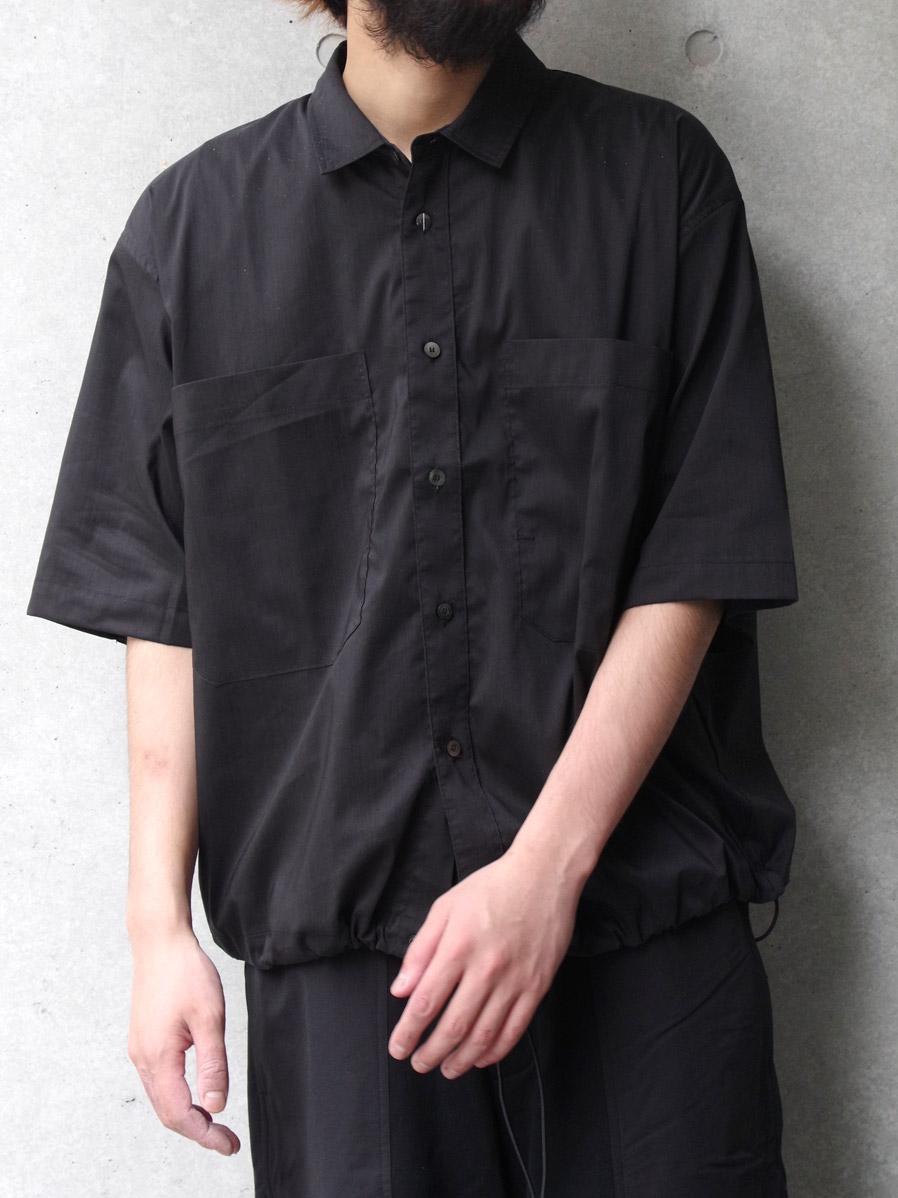 "JieDa(ジエダ)  ""DRAW CODE SHIRT"" <シャツ> - BLACK"
