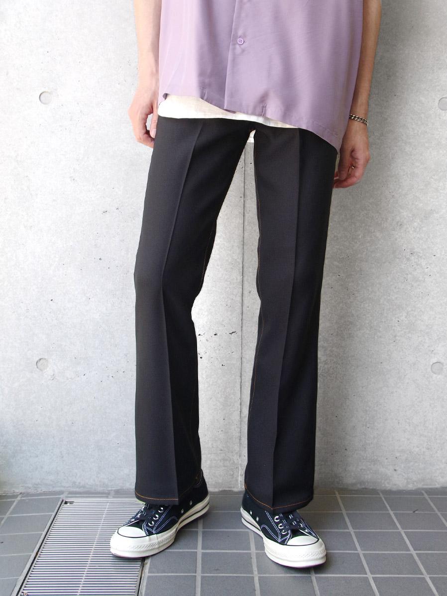 "JieDa(ジエダ)  ""FLARE PANTS"" <フレアパンツ> - BLACK"