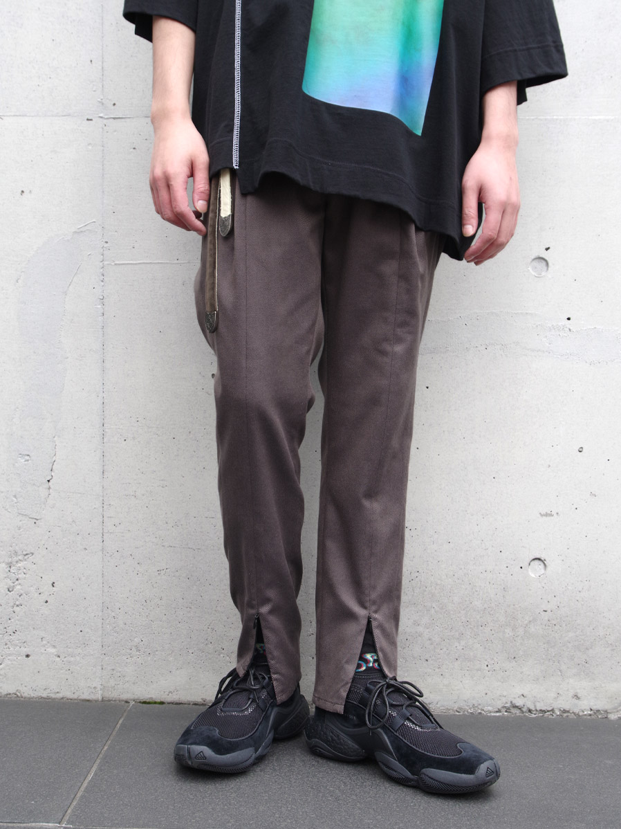 "【20SS】JieDa(ジエダ)  ""SWITCHING TUCK SLACKS"" <スラックス>"