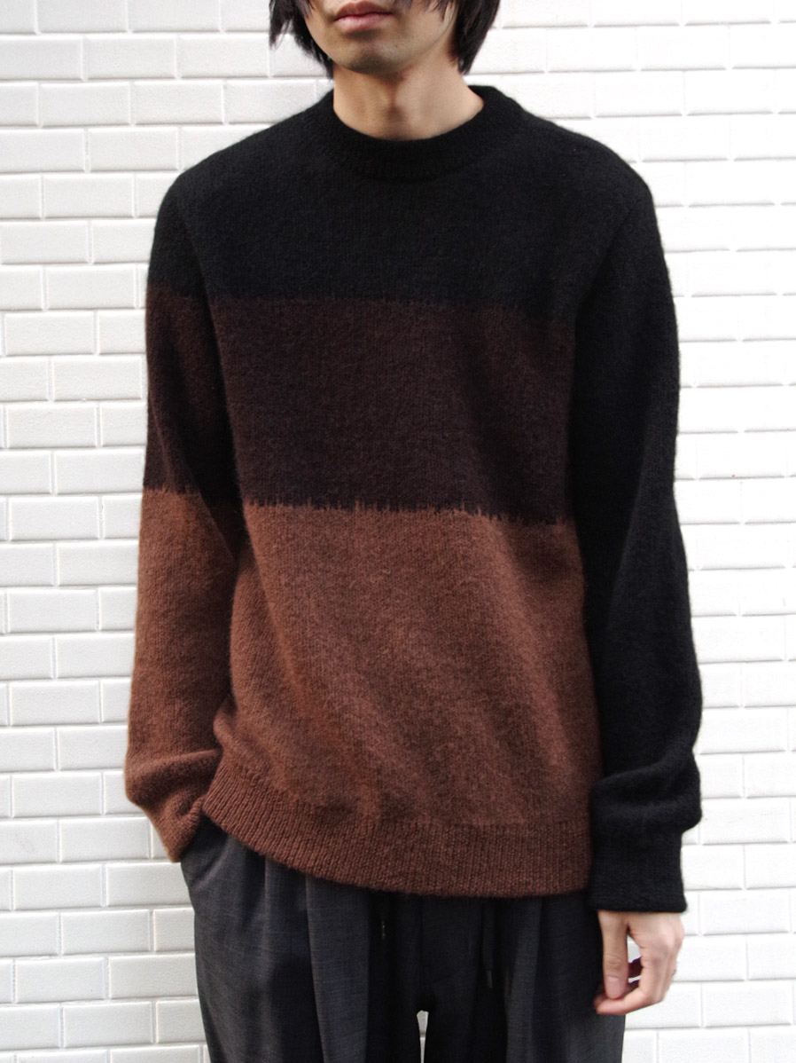 "【19AW】 JUHA (ユハ)  ""MOHAIR GRADATION KNIT"" <ニット>"