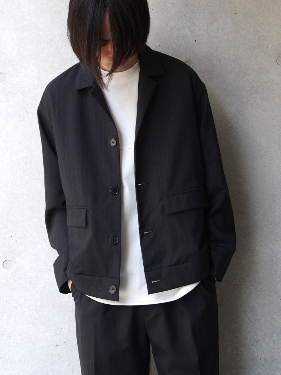 "【20SS】 JUHA (ユハ)  ""STRIPE SHORT JACKET"" <ジャケット>"
