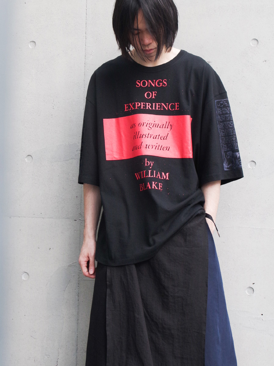 "<2021SS> LEH (レー)  ""BIG SIZE T-SHIRT -songs of experience-"" <カットソー>"