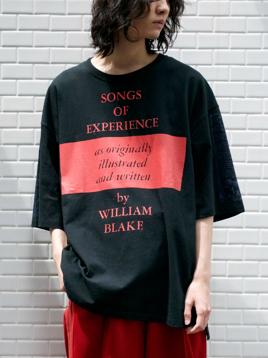 """<2021SS> LEH (レー)  """"BIG SIZE T-SHIRT -songs of experience-"""" <カットソー>"""