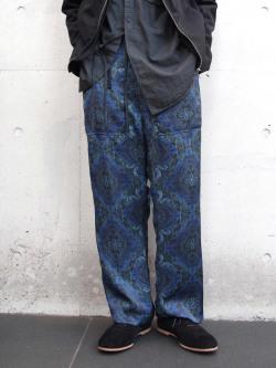 "【19SS】 BED J.W. FORD (ベッドフォード) ""Wide pants"" <ワイドイージーパンツ> - NAVY"