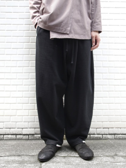 """【19AW】 my beautiful landlet (マイビューティフルランドレット)  """"vintage sweat wide easy pants"""" <スウェットパンツ>"""