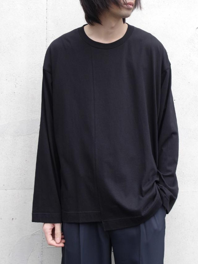 "【2020SS】 ANEI (アーネイ)  ""CREW NECK LOOSE"" <カットソー> - BLACK"