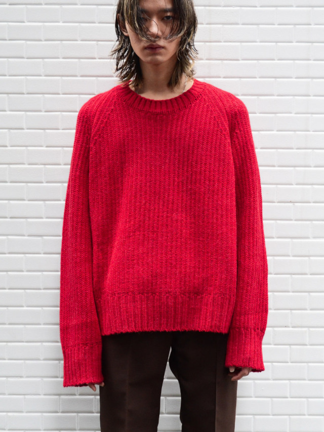 """BED J.W. FORD """"OVER SLEEVE"""" - RED"""