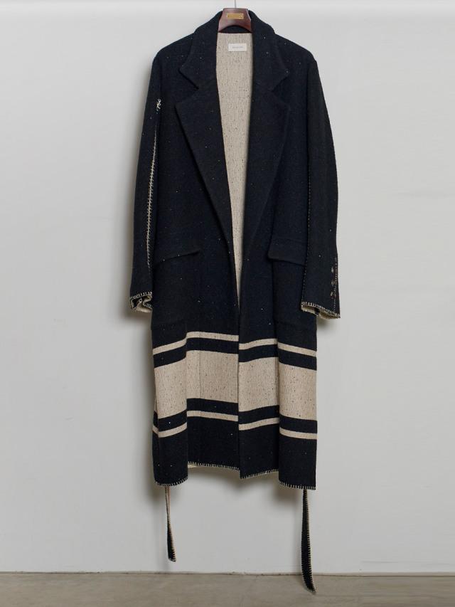 "【2020AW】 BED J.W. FORD (ベッドフォード) ""Spangle Long Coat"" <コート>"