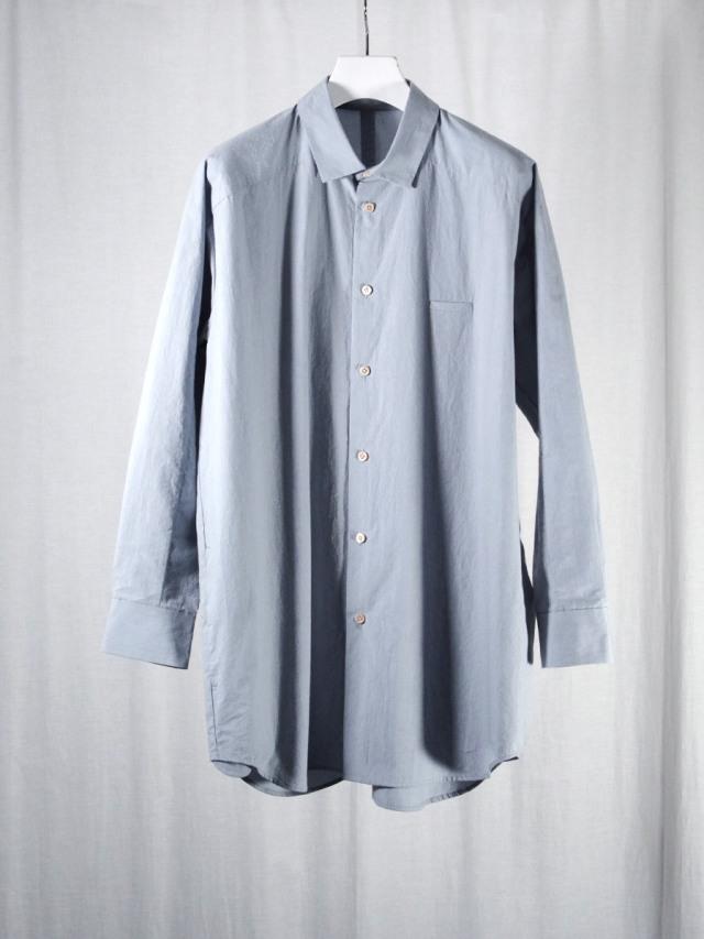 "Dulcamara ""21AW ヨークスリーブシャツ-T"" - LIGHT BLUE"