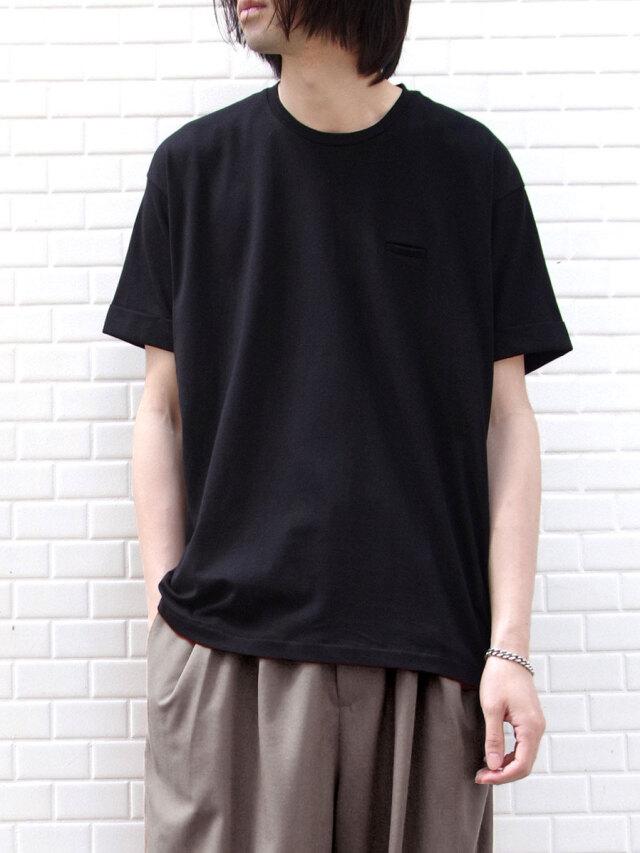 """【21SS】Dulcamara (ドゥルカマラ) """"バルーンT"""" - BLACK"""