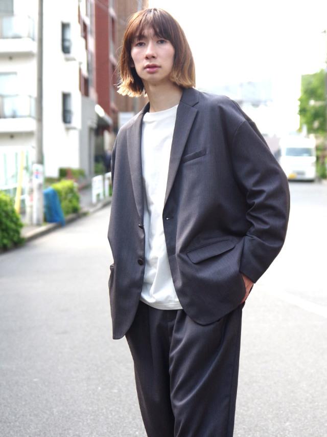 "【21SS】Dulcamara (ドゥルカマラ) ""21SS よそいきドロップJK"" - NAVY GRAY"