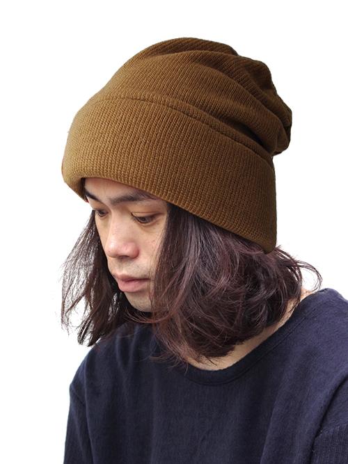 """<18AW> Edwina Horl  (エドウィナホール) // """"KNIT CAP"""" <ニットキャップ> - BROWN"""