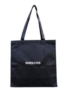 "WRAPPING (ラッピング) ""SHELTER ORIGINAL SHOPPING BAG"" オリジナルショップバッグ"
