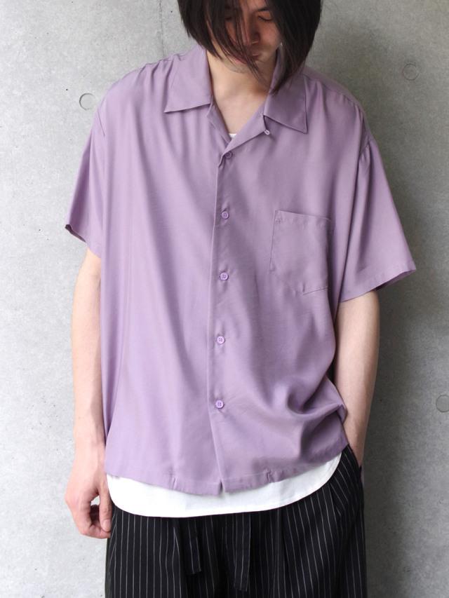 "【2020SS】 Iroquois (イロコイ) ""CUPRA TWILL SIDE VENTS SH"" オープンカラーシャツ"