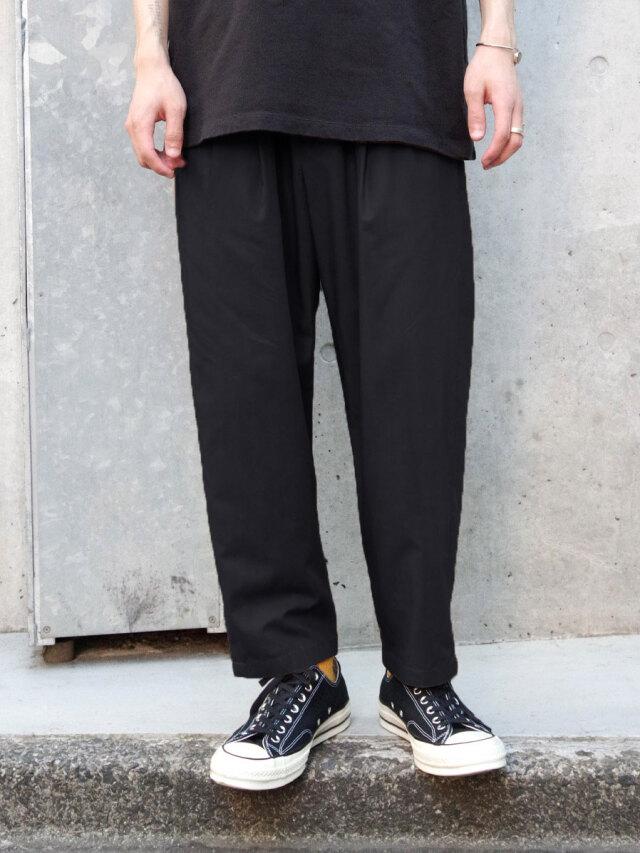 """【21SS】 Iroquois (イロコイ) """"RY TYPEWRITER CLOTH 2TUCK PT"""" イージーパンツ"""